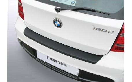 Накладка на задний бампер BMW E87