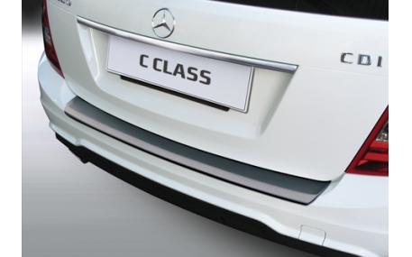 Накладка на задний бампер Mercedes C-class W204T