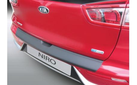 Накладка на задний бампер Kia Niro