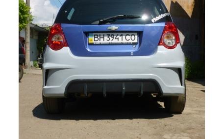 Бампер задний Chevrolet Aveo T255