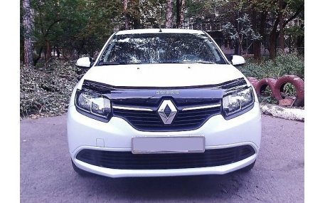 Дефлектор капота Renault Logan