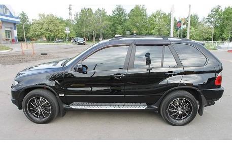 Дефлекторы окон BMW X5 E53