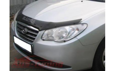 Дефлектор капота Hyundai Elantra HD