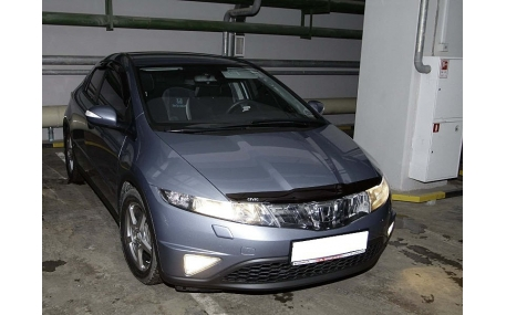 Дефлектор капота Honda Civic 5D