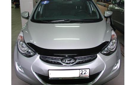 Дефлектор капота Hyundai Elantra MD