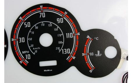 Шкалы приборов Citroen Berlingo