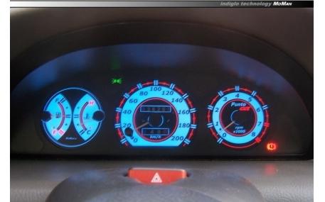Шкалы приборов Fiat Punto I