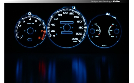 Шкалы приборов Honda CR-V