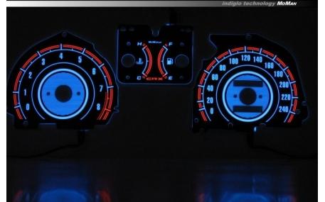 Шкалы приборов Honda CRX