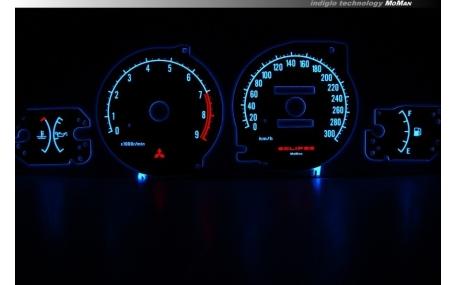Шкалы приборов MitsubishiI Eclipse