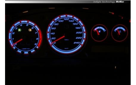 Шкалы приборов Nissan Primera