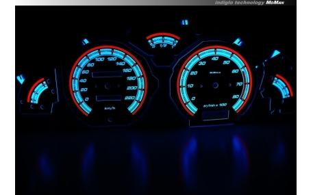 Шкалы приборов Peugeot 106