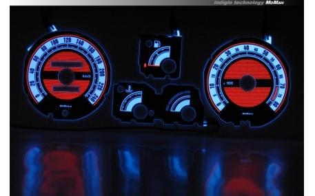 Шкалы приборов Renault 19