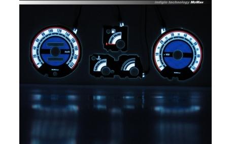 Шкалы приборов Renault Clio