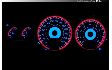 Шкалы приборов Subaru Impreza