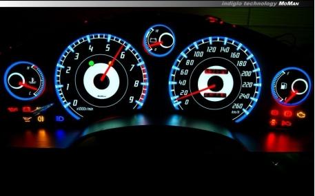 Шкалы приборов Toyota MR2