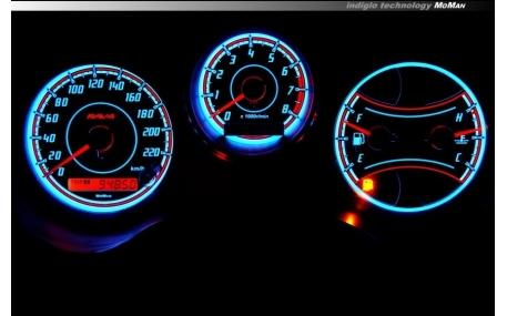 Шкалы приборов Toyota RAV4