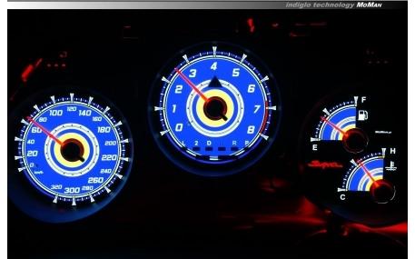 Шкалы приборов Toyota Supra