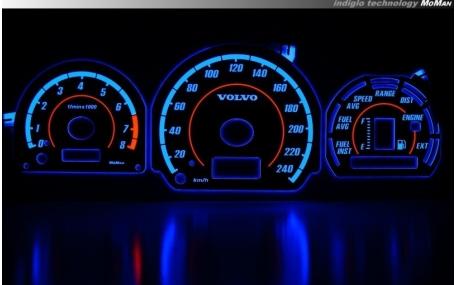 Шкалы приборов Volvo V40/S40