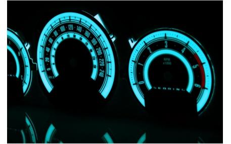 Шкалы приборов Chrysler/Dodge