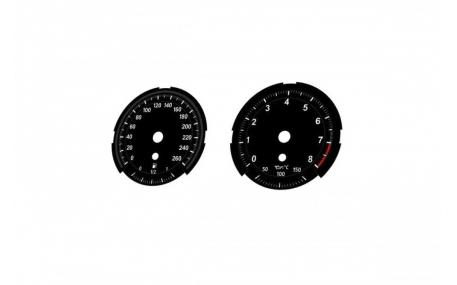 Шкалы приборов BMW Z4 E89