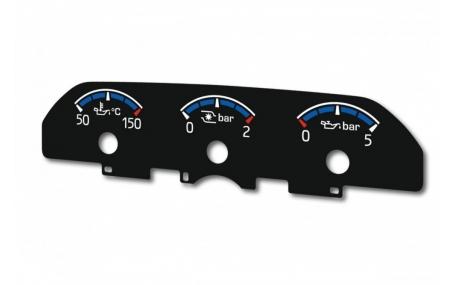 Шкалы на дополнительные приборы Ford Focus MK3
