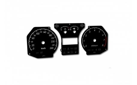 Шкалы приборов Hyundai Coupe