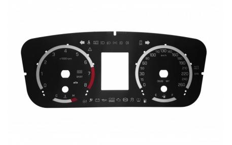 Шкалы приборов Hyundai Sonata