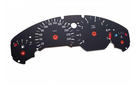 Шкалы приборов BMW Z3 (E36)