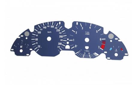 Шкалы приборов BMW 5 (E39)