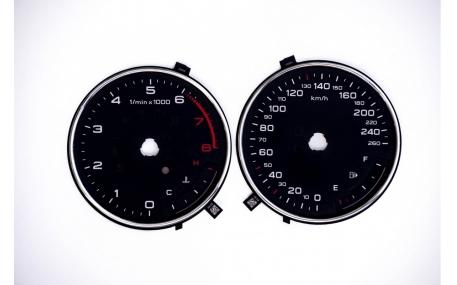 Шкалы приборов AUDI A3 8V