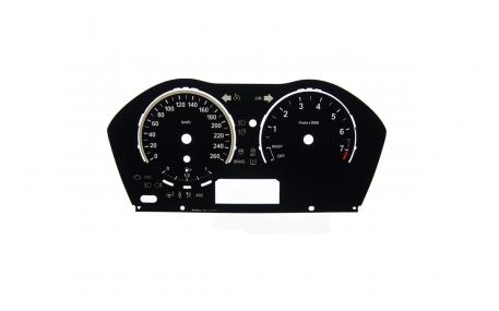 Шкалы приборов BMW F20