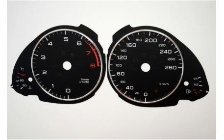 Шкалы приборов AUDI A5