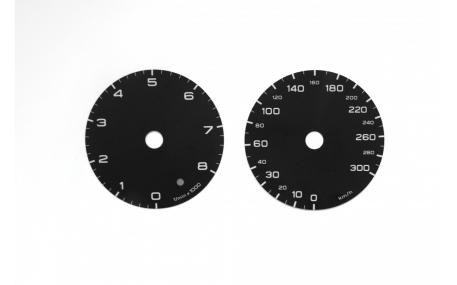 Шкалы приборов AUDI A6 C7