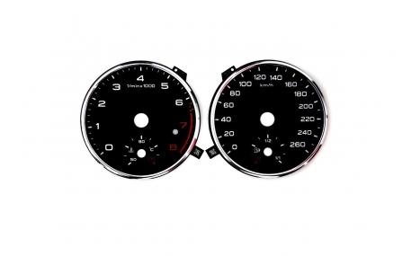 Шкалы приборов AUDI Q3