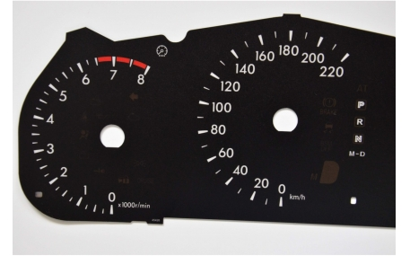 Шкалы приборов Mazda CX-7