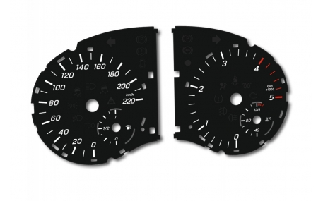 Шкалы приборов Mercedes Vito W447