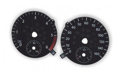 Шкалы приборов Volkswagen Amarok