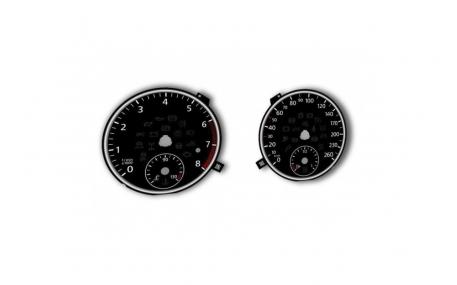 Шкалы приборов Volkswagen T5