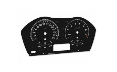 Шкалы приборов BMW X1 F48