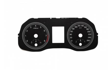 Шкалы приборов Hyundai ix35