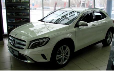 Дефлекторы окон Mercedes GLA-class X153