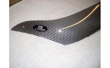 Дефлектор капота Mitsubishi Lancer 9