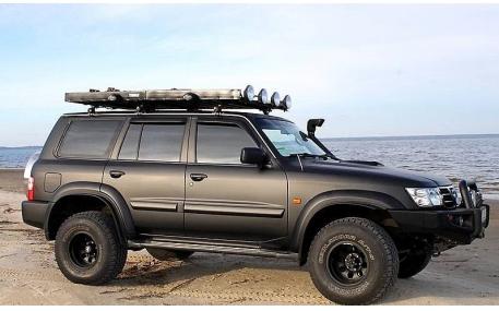 Дефлекторы окон Nissan Patrol