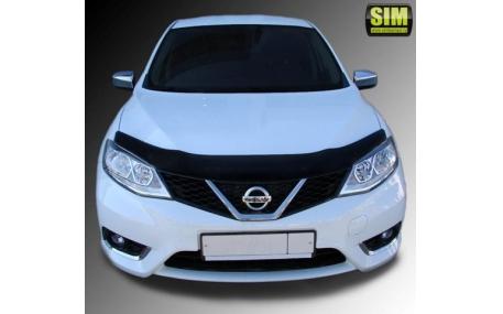 Дефлектор капота Nissan Tiida