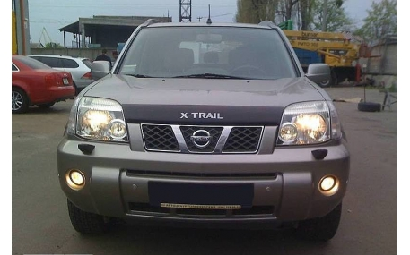 Дефлектор капота Nissan X-Trail
