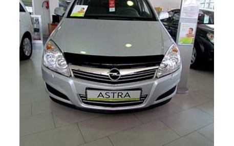 Дефлектор капота Opel Astra H
