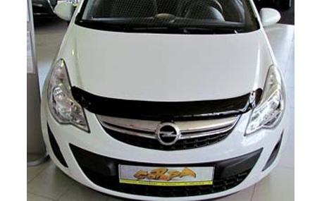 Дефлектор капота Opel Corsa D