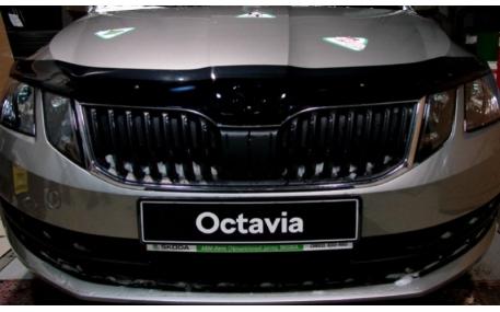 Дефлектор капота Skoda Octavia A7