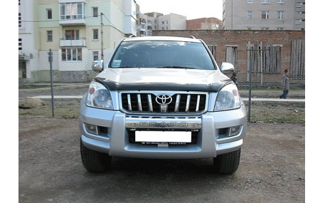 Дефлектор капота Toyota Land Cruiser Prado 120